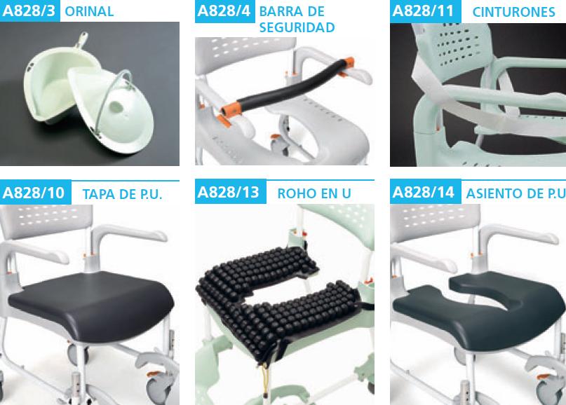 29-2 Accesorios silla ETAC